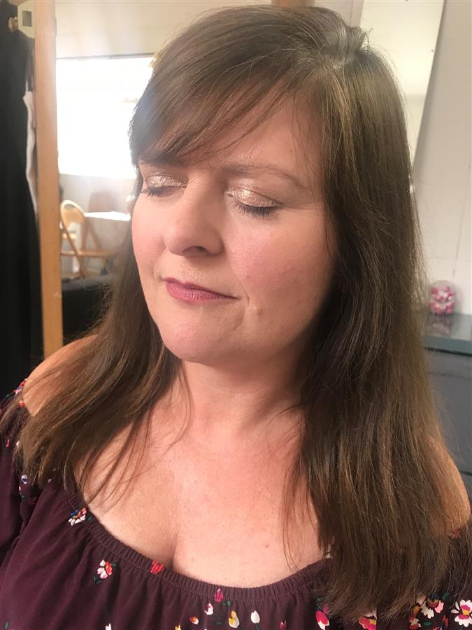 Unedited mother of the bride makeup trial by Ms Moo Make Up